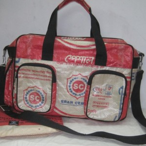 Recycled Cement Bag Products