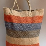 Jana jute bag, code-AB-433, sz-39X41X7X48cm, price-4.70