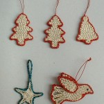 Jut X-Mas Deco Tree, Bell, Bird Code-JXB-03,02,01, Price- Tree-0.50,Bell-0.50, Bird-0.65